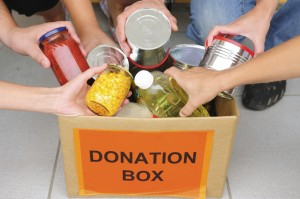 Canned goods were gathered by PACT (Pocket Area Churches Together) on May 15 to supply local food closets that serve South Sacramento residents who are in need during these tough times. Future projects to help neighbors in need are planned. / Photo iStockphoto