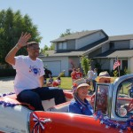 Pocket Parade 2010 - Mayor Kevin Johnson in car 02