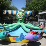 Funderland features nine children's rides, including the ride shown above. / Valley Community Newspapers photo, Lance Armstrong