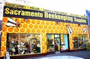SACRAMENTO BEEKEEPING SUPPLIES offers a wide variety of beekeeping equipment and accessories, local honey, pollen, royal jelly and bee-themed gifts. / Valley Community Newspapers photo, Lance Armstrong