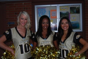 SOMETHING TO ROAR ABOUT. Members of the Sacramento Mountain Lions Cheerleading Squad attended last year's Wine, Beer & Food Extravaganza. This popular event benefits tuition assistance at Christian Brothers High School. Over 1,600 Sacramento area residents, athletes and celebrities will be in attendance at this year's event on Sept. 9. /  Photo courtesy, Christian Brothers High School