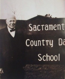 SACRAMENTO COUNTRY DAY SCHOOL founder Herb Matthews served as the school's first headmaster. / Photo courtesy, Sacramento Country Day School