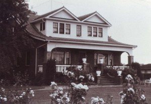 THE MANUEL SILVEIRA ALVERNAZ HOME in the Riverside/Pocket area was constructed by Terra Bros. builders in about 1928. / Photo courtesy, Portuguese Historical and Cultural Society