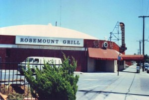 The Rosemount Grill, which operated in East Sacramento from 1945 to 1989, is shown in this early 1989 photograph. / Photo courtesy, the Mikacich family