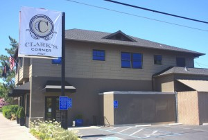 The East Sacramento business, Clark's Corner, opened at the original site of Shakey's Pizza Parlor and Ye Public House last May. / Valley Community Newspapers photo, Lance Armstrong