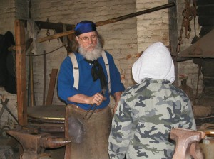 "The Hands on History event, ""Harvest: The Real Gold in California,"" will be held at Sutter's Fort on Sept. 17. The event will include many artisans demonstrating historical techniques of making tools. / Photo courtesy, Sutter's Fort SHP"