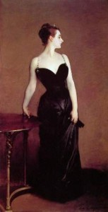 PORTRAIT OF MADAME X. 1884, oil on canvas by John Singer Sargent. This controversial work will be discussed at the Crocker Art Museum on Sept. 24. / Image Public Domain