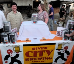 BREW MASTER Brian Cofresi of the River City Brewing Co. will prepare a special brew for this year's A Taste of History event. / Photo courtesy, Friends of Sutter's Fort