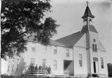 THE ORIGINAL St. Joseph Parish was consecrated in September 1893. The church building was once physically connected to the church's rectory, which presently sits just north of the present-day St. Joseph church building. / Photo courtesy, PHCS