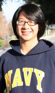 ALEXANDRA CHAN is a student at the United States Naval Academy. / Photo courtesy