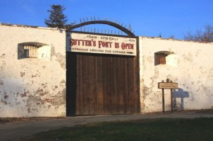 EARLY MED-CENTER. The first local hospitals were located at Sutter's Fort at various times during the mid-19th century. / Valley Community Newspapers photo, Lance Armstrong