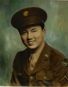 WWII VETERAN. Herbert Yee served in the U.S. Army from January 1944 to October 1945. / Photo courtesy, Herbert Yee