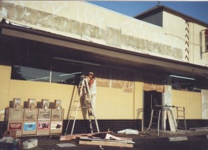 Taylor's Market was remodeled following its change in ownership in 1988. / Photo courtesy, Ed and Colleen Schell