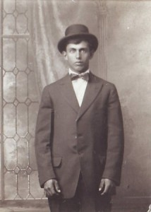 FRANK ROGERS is shown at the age of 24 in this 1920 photograph. / Photo courtesy, PHCS