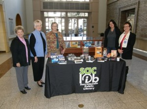 HUMAN TRAFFICKING, or modern slavery, exists in every part of Sacramento. The members of Soroptimist International of Sacramento South (SISS) donated books on this issue to the Sacramento Library, which did not have any literature on this issue prior to the donation. / Photo courtesy, Soroptimist International of Sacramento South (SISS)