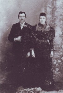 STARTING A NEW LIFE TOGETHER. Mary and Joseph Nevis, who are shown in their wedding photograph, were married in 1890. / Photo courtesy, Sacramento Portuguese Cultural and Historical Society