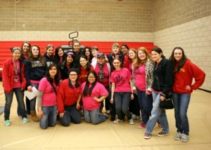 NOT WEIRDOS AND GEEKS, the St. Francis Fembots hosted the FIRST Robotics Practice Day for high school robotics teams throughout the region. Teams came from as far away as the East Bay Area. Robotics students are highly desirable candidates at colleges and universities nationwide. / Photo courtesy, Stuart King