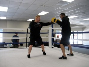 ATHLETES looking to expand their skills in either boxing or mixed martial arts will soon have a new facility to practice in. / Valley Community Newspapers photo, Benn Hodapp