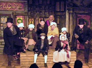 "A CHRISTMAS TRADITION, ""Scrooge"" is produced by the Chautauqua Playhouse every holiday season, much to the delight of audiences. / Photo courtesy, Chautauqua Playhouse"