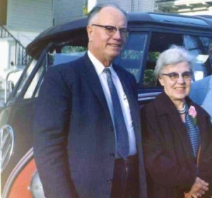 MEET THE PARENTS. Clark and Mary Ryder moved to Sacramento in 1928 and had their first child, Dick Ryder, during the following year. / Photo courtesy, Dick Ryder