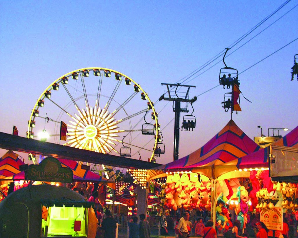 This year's State Fair offers a wide variety of midway rides and other attractions. / Photo courtesy of the California State Fair