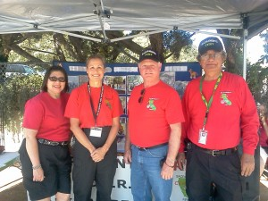 Community Emergency Response Team (CERT) Sacramento City members were on hand to answer questions on how to protect pets during a disaster.
