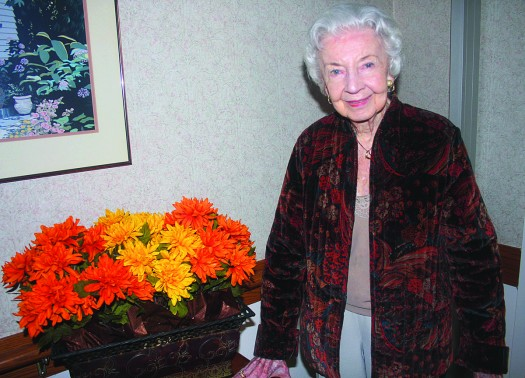 "East Sacramento resident Mabel ""Bunny"" Perich will turn 100 years old on Nov. 24. Photo by Lance Armstrong"
