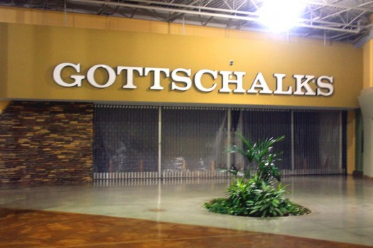 Photo #2 Caption: The old Gottschalks store space at Country Club Plaza has been vacant since 2009. Photo by Lance Armstrong
