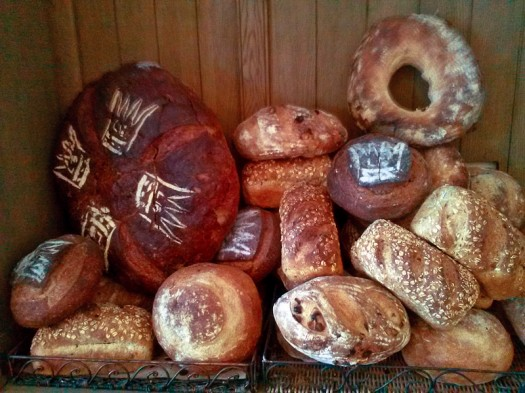 Breads from Les Baux.  / Photos by Corrie Pelc