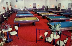 Country Club Family Billiards operated at the current site of Pardee's Cameras from the mid-1960s to the mid-1980s. Photo courtesy of Pardee's Cameras