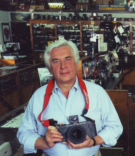 Manfred Kallweit will celebrate his 35th year as the owner of Pardee's Cameras on Dec. 15.