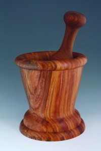 A woodturning by Nor-Cal Woodturners members Richard Bell. Photo courtesy Nor-Cal Woodturners.