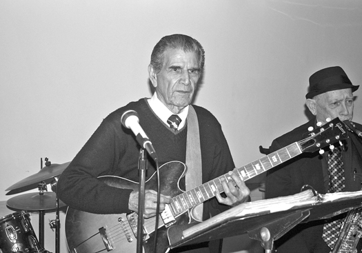 Longtime local musician Eddie Lovato was a Jack's House of Music customer from the mid-1950s until 2002, when this popular business closed. Photo by Lance Armstrong