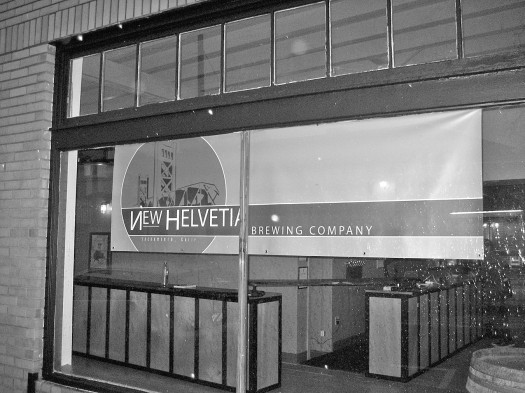 Land Park's newly-opened New Helvetia Brewing Company, located at 1730 Broadway began its soft opening month in December, having first opened its doors on Dec. 6. The site will be part bar, part brewery and part history. // Photo by Benn Hodapp