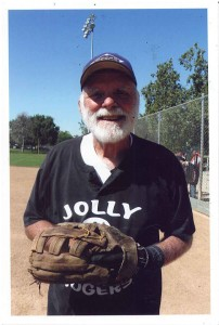 Bob Rogers is a GSSC player and tournament star as well as a long-time sponsor of the Golden Seniors. When he played he was a manager, pitcher and infielder. Lou Coppola describes him as a versatile player. / Photo courtesy of Lou Coppola