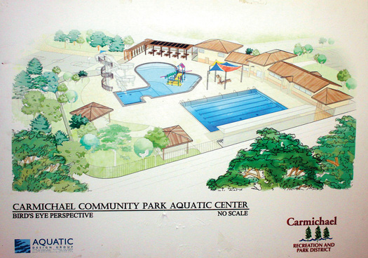 This proposed aquatic center was presented to the district in 2007. Photo by Lance Armstrong