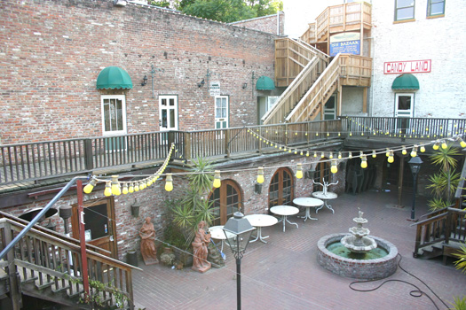 Photo #1 Caption: The original street level of downtown Sacramento can be seen at the old Fulton's Prime Rib Restaurant site at 906 2nd St. in Old Sacramento. Photo by Lance Armstrong