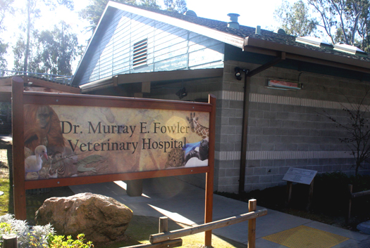 The Dr. Murray E. Fowler Veterinary Hospital opened on Nov. 9, 2006. Photo by Lance Armstrong