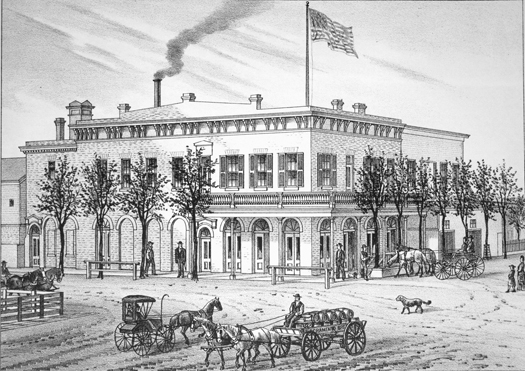The Sacramento Brewery was located at 28th and M (now Capitol Avenue) streets.