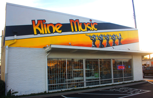 Kline Music is presently celebrating its 50th anniversary. Photo by Lance Armstrong