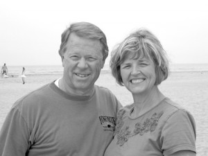 Don and Holly Haws resided in Carmichael during the 1970s, while Don managed the Carmichael Park pool and was the head coach of the Carmichael Beavers Swim Team. Photo courtesy of Don Haws