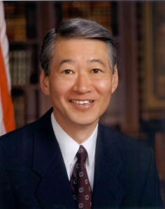 Robert T. Matsui (1941-2005) was one of the most notable Sacramento-born politicians. Photo courtesy of East Lawn Memorial Park