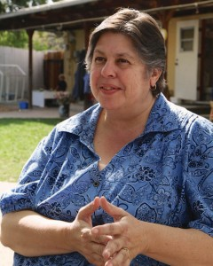 Head teacher at Discovery Montessori, Denise Halfacre / Photo by Claire Mills