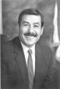 Former Mayor Joe Serna, Jr. was laid to rest at East Lawn Memorial Park in 1999. Photo courtesy of East Lawn Memorial Park