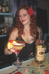 Starlite co-owner Shannon Cannon is among her business's bartenders. Photo by Lance Armstrong