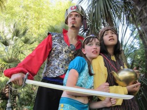 "Congrats to Fairytale Town Troupers and Mr. Lee for winning an award for original work for ""Sindbad & Aladdin: The Arabian Knights!"" at Sunday, Sept. 22's Elly Awards!"