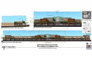 Here is a proposed drawing of the Milagro marketplace, which had a un-groundbreaking ceremony on Thursday, Nov. 7.