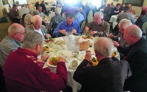 The luncheon was attended by 60 people. Photo by Lance Armstrong