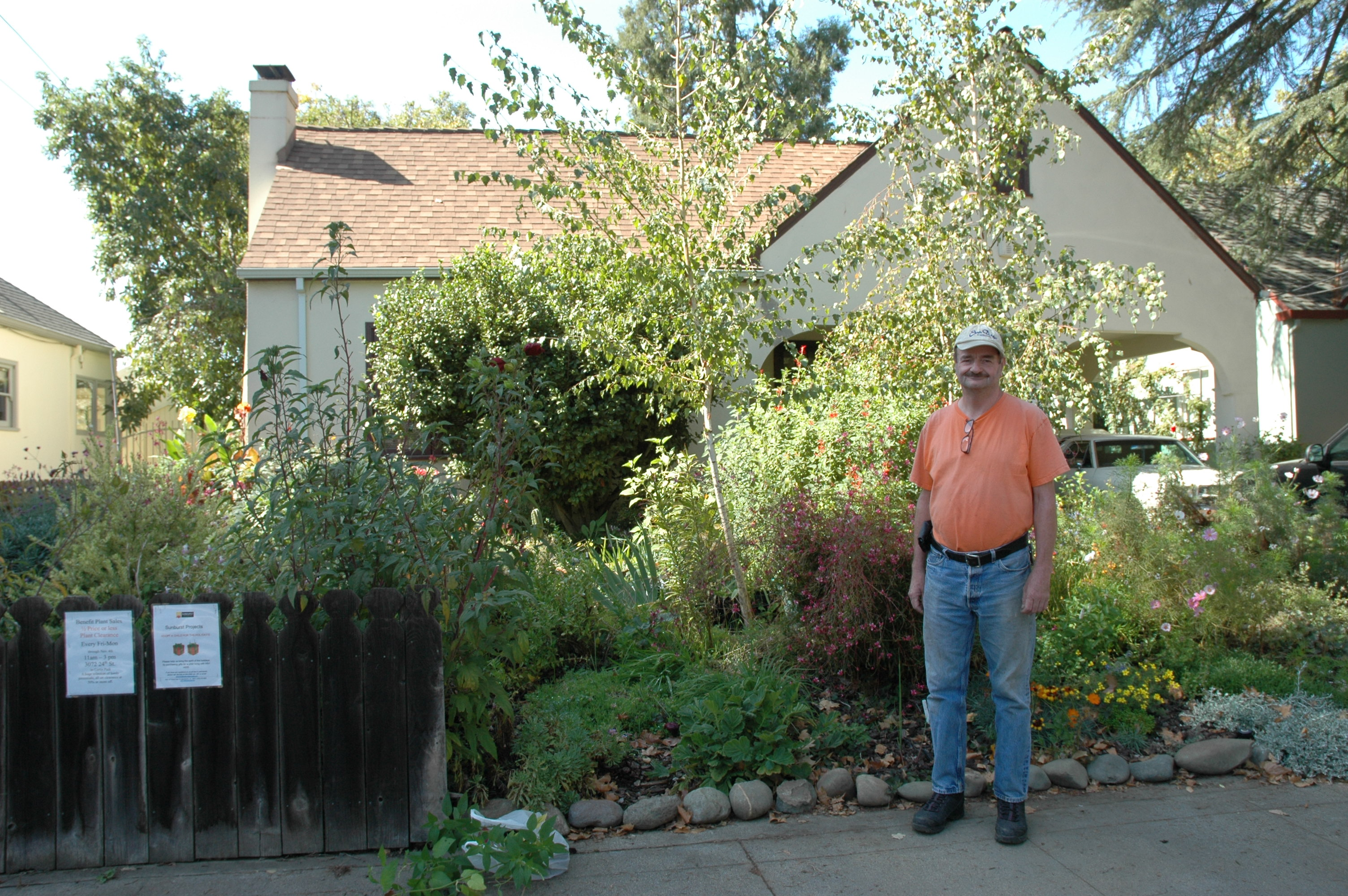 Bob Hamm Has Been Doing Plants Sales For More Than 20 Years That Benefit Sunburst Projects