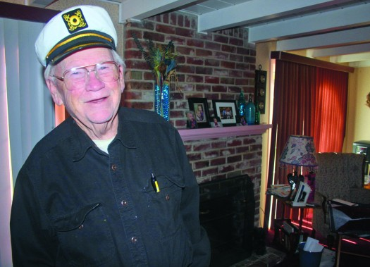 Charlie Duncan, shown above in this recent photograph, replaced Mitch Agruss as Channel 13's Cap'n Delta in November 1966. Photo by Lance Armstrong